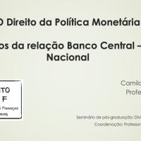 Material Didático: Os desafios da relação Banco Central – Tesouro Nacional